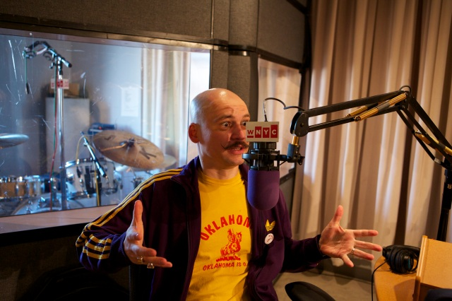 Pavol at WNYC by Ilan Bachrach